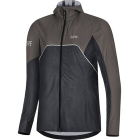 GORE WEAR R7 Gore-Tex Shakedry Trail Hooded Jacket Women black/lava grey